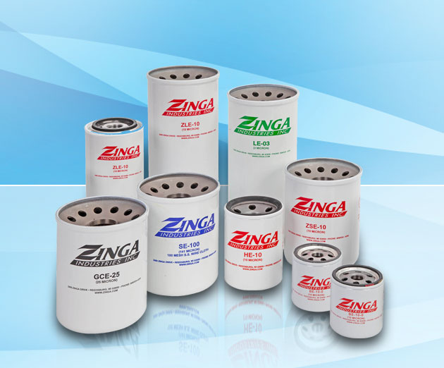 ZINGA MN-SE100 Direct Interchange for ZINGA-SE100 Stainless Steel Millennium Filters